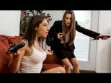 Abella Danger, Kimmy Granger (Dirty Little Gamer) Lesbian sex porno