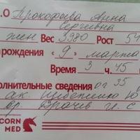 Анюта Прокофьева