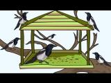 Мультфильм про птиц. Развивающие мультики для детей до 4-х лет.