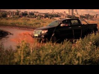 Ford 4x4 Тест драйв Тушино 2012 - Explorer, Ranger, Kuga.mov