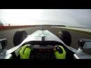 Нико Росберг за рулем Mercedes W03 в Сильверстоуне 16.02.2012