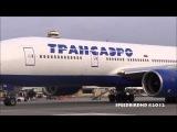 Transaero Airlines Boeing 777-200(ER) [EI-UNV] Inaugural Flight to Los Angeles