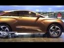 Концепт кар - Лада X Ray concept  на Автосалоне 2012.