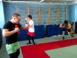 Круговая тренировка бойца  mma crossfit