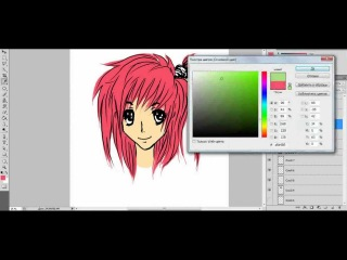 Как рисовать в стиле манга (лицо): урок 5
