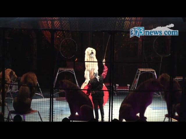木下大サーカスが鹿児島市で開幕 2010年11月27日