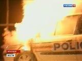 Французы встречали Новый год под зарево горящих автомобилей