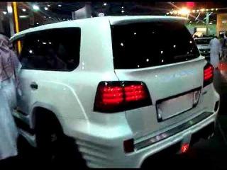 LEXUS LX 570 Invader SUV 600HP Jeddah MotorShow 26-12-2010