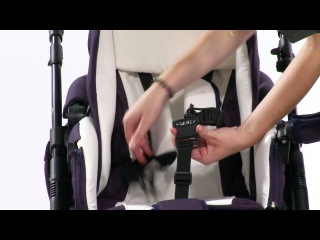 Универсальная коляска для новорожденных 2в1 Adamex Mars