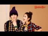 (Seo In Guk)서인국&(IU)아이유 유니온베이(UnionBay) 광고촬영스케치 현장!