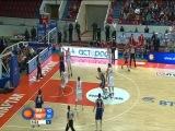 Spartak-Khimki Highlights 24.10.2012 (74:69)