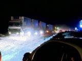 В России 8 человек погибли на заснеженных дорогах!