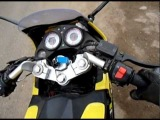 STELS SB 200 - exhaust tuning, RPM