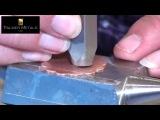 Как сделать металлические украшения с заклепками