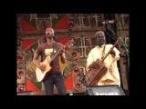Essaouira 2010 - Maalem Mahmoud Guinea with Daby Toure T2