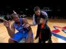(NBA All Star 2011)- Serge Ibaka Saves Little Kid's Teddy Bear *Teddy bear Dunk*