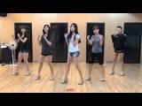 EXID - I Feel Good Dance Practice Mirror