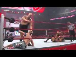 Triple H Vs John Cena Vs Randy Orton Vs Big Show | WWE Championship Match - RAW 09