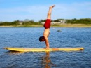 Paddle Board Yoga by Equinox