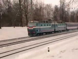 [РЖД | PKP] ЧС7-024 с поездом