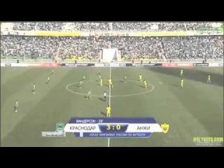 Краснодар - Анжи 4-0 Обзор матча - 22 тур РФПЛ. 31/03/2013