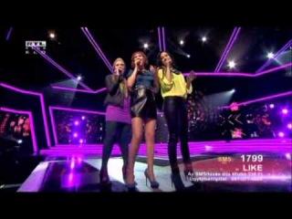 X-Faktor 2012.10.13. LIKE első élő show XFAKTOR