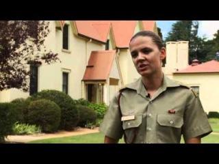 Army Officer Training at the Royal Military College http://www.youtube.com/watch?v=_VrHBtAsQ4M