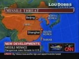 Lou Dobbs: Chinese missile poses threat to US carriers http://www.youtube.com/watch?v=9hC-oFB8-yw