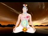 Схема тонкого тела человека: каналы, чакры, местонахождение спящей Кундалини.