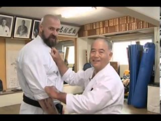 Стальные кулаки Окинавы, Сергей Бадюк и мастер