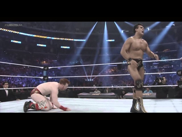 [My1Wrestling.ru] WWE SummerSlam 2012 World Heavyweight Championship - Sheamus vs. Alberto Del Rio Highlights