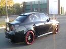 My BMW E60 545i Cherry Bomb Glasspack Quad exhaust Takeoff