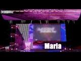 Maria Kanellis WWE Stage 2011