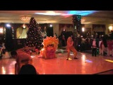 "Radisson Hotel, Astana New Year Party 2012 Show theater ""Bravo""."" DRAGON"""