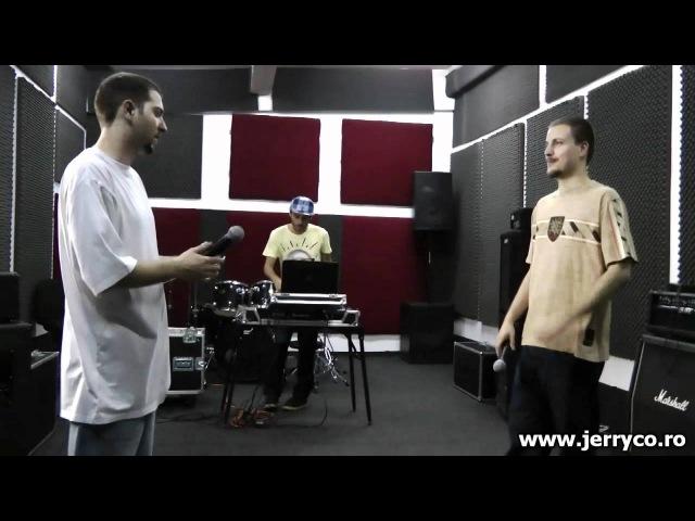 JerryCo Sesiune de repetitii cu Mario V si Dj J On