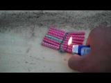 Demonstration: Bermuda Triangles - Large Salute-like Firecracker