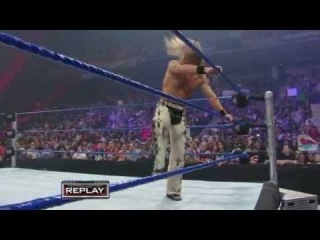 Shawn Michaels vs Batista - Special Guest Referee Chris Jericho (Backlash-2008)