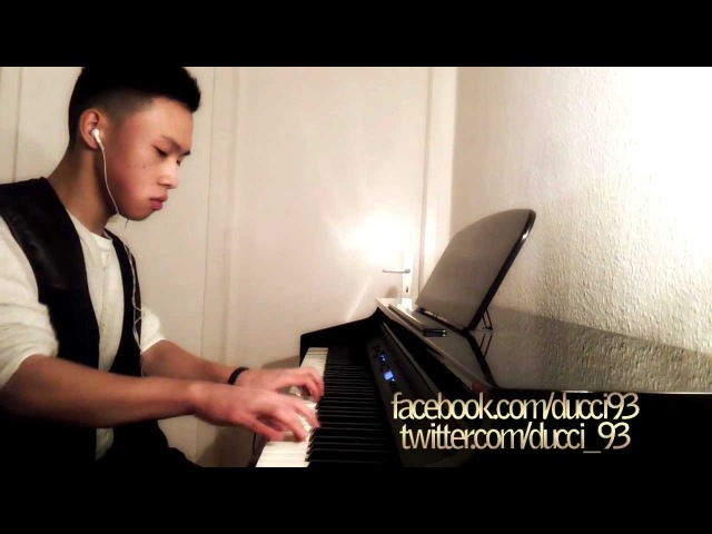 DJ Antoine - Sky Is The Limit (piano cover, lyrics, HD, download)