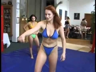 excellent female wrestling with Barbara and Vera