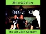 Skrewdriver - Tomorrow Belongs To Me (live) Last Gig In Germany
