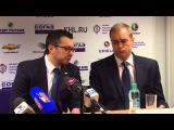 Пресс-конференция с участием и.о. главного тренера команды