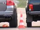 Porsche Cayenne vs Lada Niva - Car Show 2011