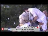 Iker Casillas en la Cibeles ofreciendo el 32 título de Liga a la afición del Real Madrid