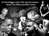 Dr. Dre feat. Notorious B.I.G., Xzibit, 2Pac, Jay-Z &amp Eminem - Whats The Difference (NickT remix)