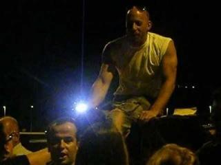 Vin Diesel - Rodaje A todo gas 6.  (27-10-2012   20.15h)  * Audio en vivo sin cortes