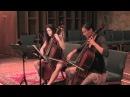 Bradamante Cello Duo - Vivaldi Sonata in a minor, II. Allegro