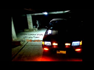 Toyota Corona ST171 - Thailand - Auto Cover fog light and LED Lamp Project [HD]