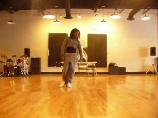 Cici dancing to Ciara - Sorry