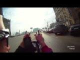 На лигераде по Москве (Recumbent ride in Moscow)