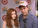 Alyson Hannigan and Alexis Denisof love the EGPAF